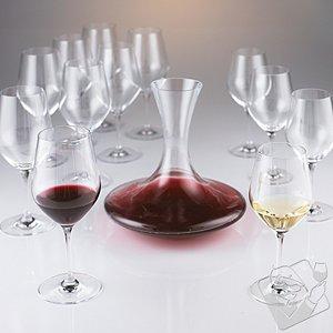 Fusion Classic Winemaker's Dozen Value Pack (8 Reds + 4 Whites + Decanter)