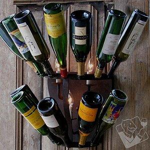 Luce De Vino Wine Bottle Sconce