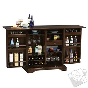 Howard Miller Benmore Valley Wine & Bar Cabinet