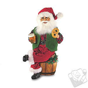 Karen Didion Beer Barrel Santa
