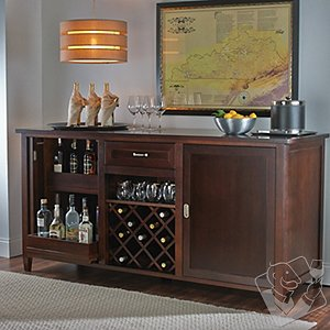 Firenze Wine and Spirits Credenza