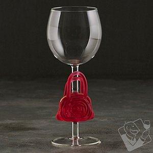 Collectible Pink Handbag Wine Glass