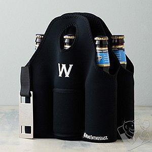Personalized Neoprene 6 Bottle Beer Carrier