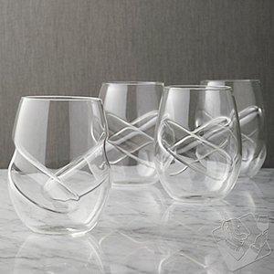 Aerating Wine Glasses (Set of 4)