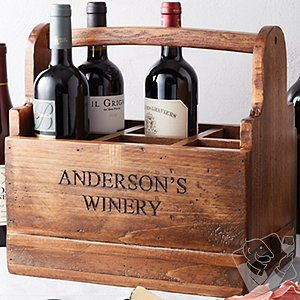 Personalized Wine Tasting Carrier