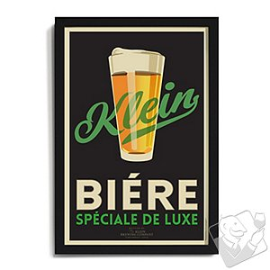 Personalized 'Biere' Framed Print