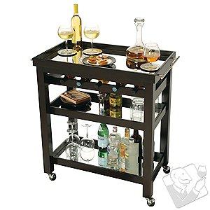 Howard Miller Pienza Wine and Bar Cart