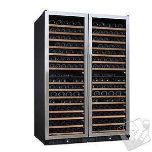 N'FINITY PRO Double L Wine Cellar (Stainless Steel Door)