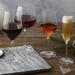Complete Fusion Classic Wine Glass Collection (Set of 16)