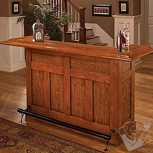 Classic Bar (Oak Finish)