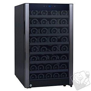 52-Bottle Evolution Series Wine Refrigerator (Glass Door with Black Stainless Steel Trim)