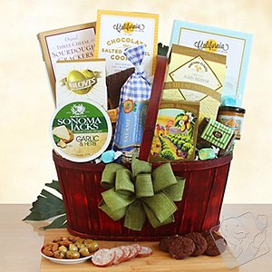 Snack Celebration Gift Basket