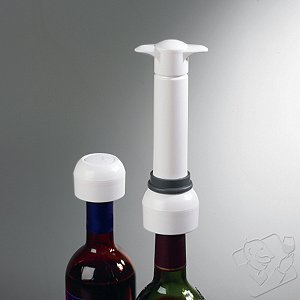 Wine Enthusiast Vino Vac Wine Saver (1 Pump / 1 Stopper)