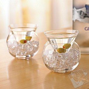 Martini Chiller Glasses (Set of 2)