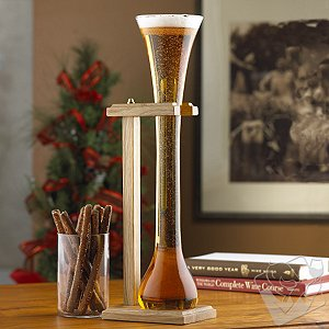 Half-Yard of Ale Glass & Stand