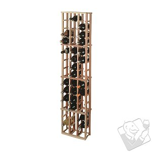 Redwood Modular Wine Rack Kit - 48 Bottle Magnum