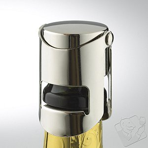 Champagne Preservation Recorker (Chrome)