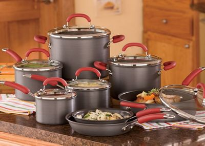 14-Piece Anodized Aluminum Cookware Set by Rachael Ray with Rebate Offer