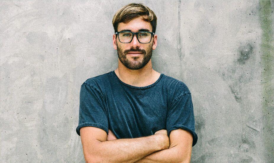 boy with eyeglasses cuz