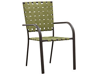 Carter Stack Chair, Green, , large