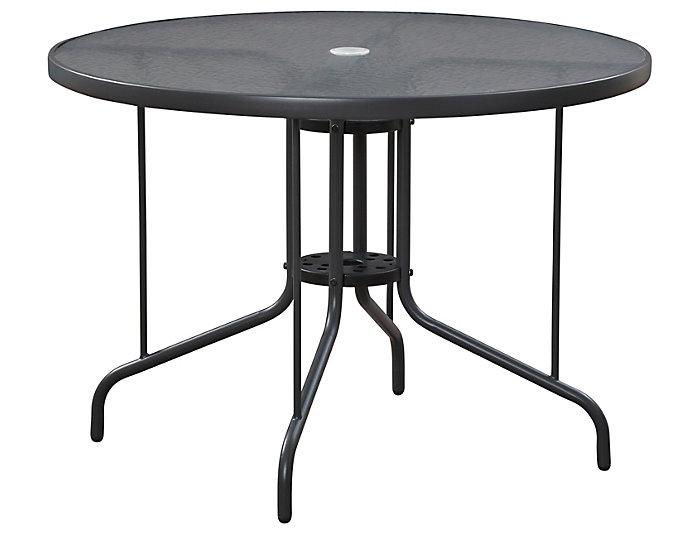 """Geneva 40"""" Round Dining Table, Grey, , large"""