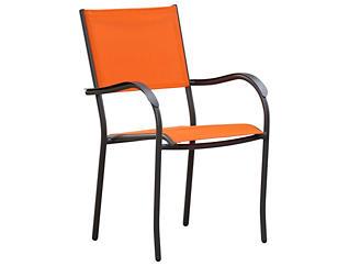 Geneva Orange Stack Chair, Orange, , large