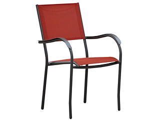 Geneva Stack Chair, Red, , large