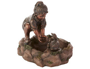 Fountain Girl with Ducks, , large