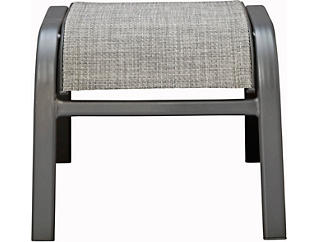 Manor III Grey Stacking Ottoman, , large