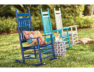 Porter Turquoise Rocking Chair, , large