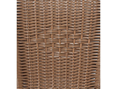 Wicker 3 Pc Bistro Set, , large
