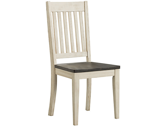 Huron Slat Back Chair - Chalk, , large