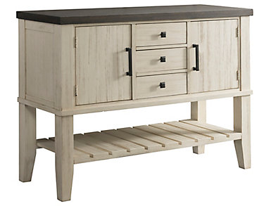 Huron Dining Server - Chalk, , large