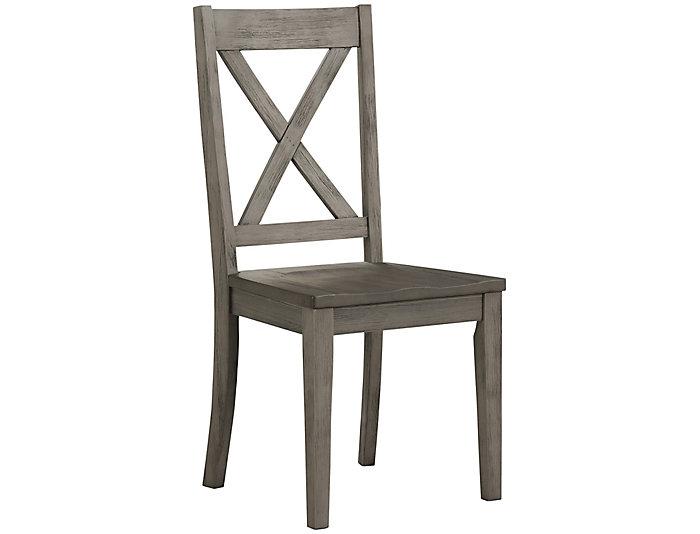 Huron X-Back Chair - Grey, , large