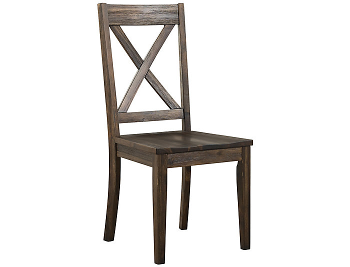 Huron X Back Chair   Russet