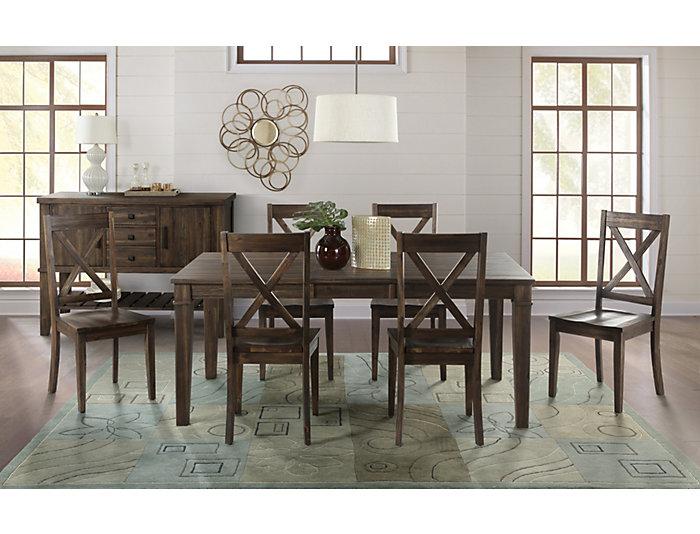 Huron Leg Table - Russet, , large