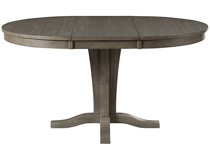 Huron Pedestal Table - Grey, , large