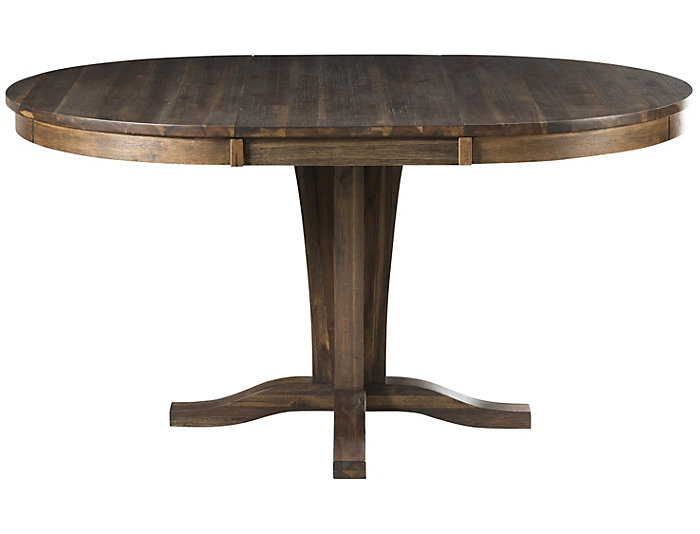 Huron Pedestal Table - Russet, , large
