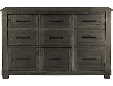 Sun Valley 9 Drawer Dresser, Charcoal, , large