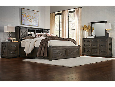 Sun Valley Charcoal 9 Drawer Dresser, , large