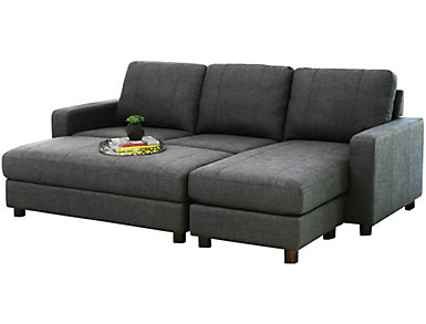 Luno Sectional & Ottoman, , large