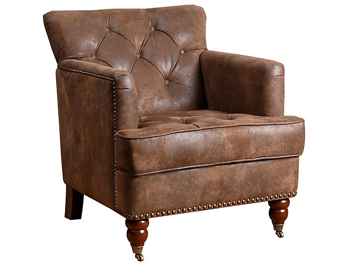 Attrayant ... Tafton Tufted Club Chair, Brown, , Large ...