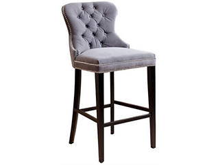 Versailles Grey Bar Stool, , large