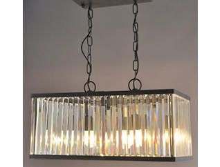 Stella Rectangular Chandelier, , large