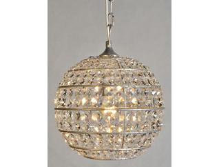 Crystal Circular Chandelier, , large