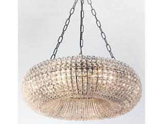 Roslyn Oval Shaped Chandelier, , large