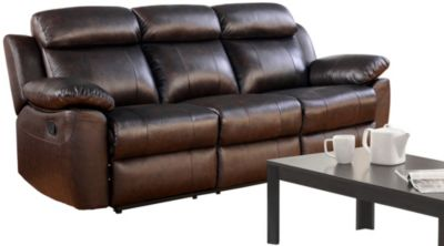 Braylen Leather Reclining Sofa  sc 1 st  Art Van Furniture : brown leather reclining couch - islam-shia.org