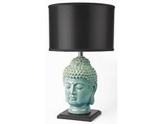 Buddha Green Table Lamp, , large