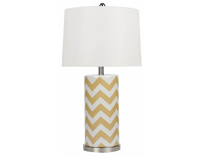 Madison Yellow Table Lamp, , large
