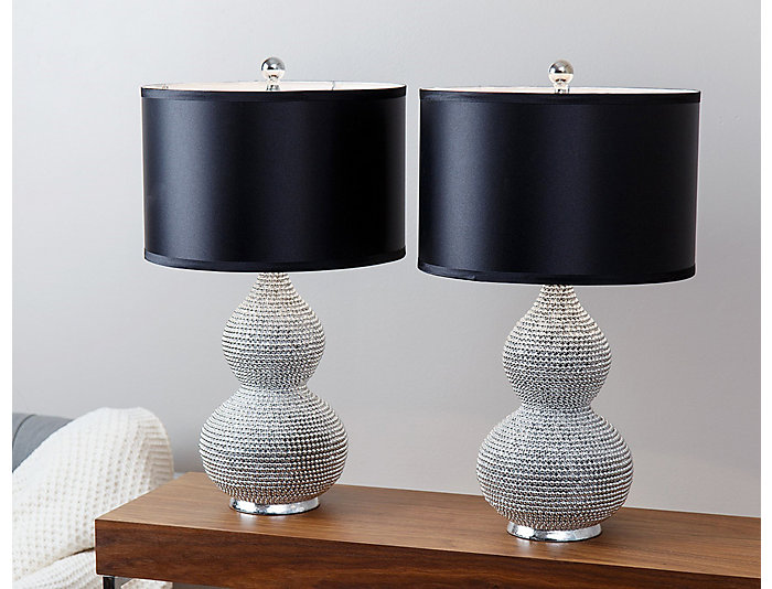 Sea Urchin Table Lamp Set of 2, , large